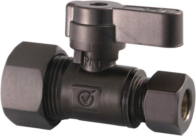 Kingston Brass KF5335ORB 5 8-Inch X Straight OD Award-winning store Comp 3 St Limited price