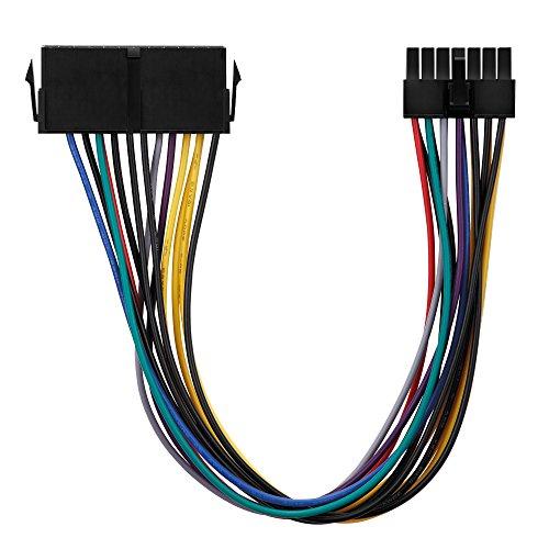 conecto CC20015 ATX-stroomadapter voeding voor Lenovo Medion 14-polig moederbord zwart
