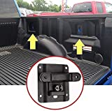 BEIJIAOFLY 4 Pack 2015-2021 F150 F250 F350 Boxlink Tie Down Anchors Cleats Bed Tie Downs with Tie Down Plates Brackets Anti-Theft Screws01