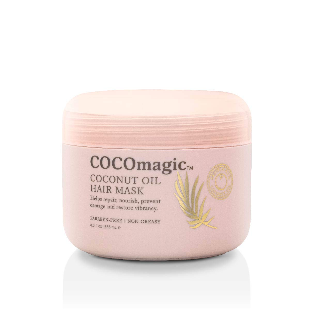 CocoMagic Coconut Japan Maker New Oil Hair Trust Mask Damage - Frizz Prevents Repairs