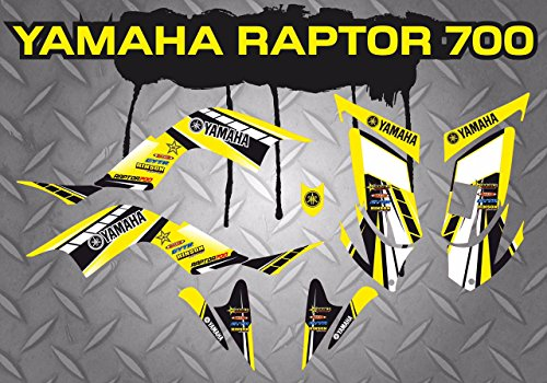 Kit Adhesivos Yamaha Raptor 700 ADESIVY Stickers