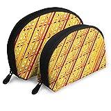 XCNGG Bolsa de almacenamiento de tira amarilla superpuesta Monedero Bolsa de...