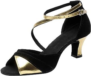 Women's Dancing Shoes Soft Bottom School Rumba Waltz Prom Ballroom Latin Salsa Adult High Heels Dance Shoes