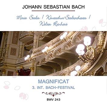 Maria Stader / Winterthur-Stadtorchester / Walter Reinhart Play: Johann Sebastian Bach: Magnificat - 3. INT. Bach-Festival, Bwv 243 (Live)