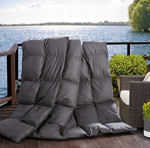 L LOVSOUL Down Alternative Comforter (Grey,Queen)-Ultra Soft Brushed Microfiber-Hypoallergenic Plush Mircofiber Comforter Duvet Insert Queen-90x90Inches