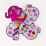 Saititoys Maquillaje Infantil, Paleta de Maquillaje, Elefante Maquillaje, Set de Maquillaje, cosmético Juguete