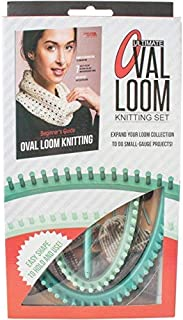 Leisure Arts Ultimate Oval Loom Knitting Set for Beginners, Multi-Colour, 4.15 x 24.77 x 45.72 cm