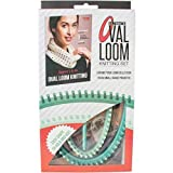 Leisure Arts - Ultimate Oval Loom Knitting Set   Pattern Book with 7 Easy to Follow Patterns   Oval Looms in 2 Sizes with Stitching Tool