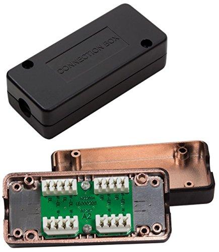 odedo LSA Verbindungsmodul für Cat 7 und Cat 6A auch Cat 6 mit Anleitung, LSA Verbinder zum Reparieren, Verlängern von Netzwerkkabel und Verlegekabel, metallisiert