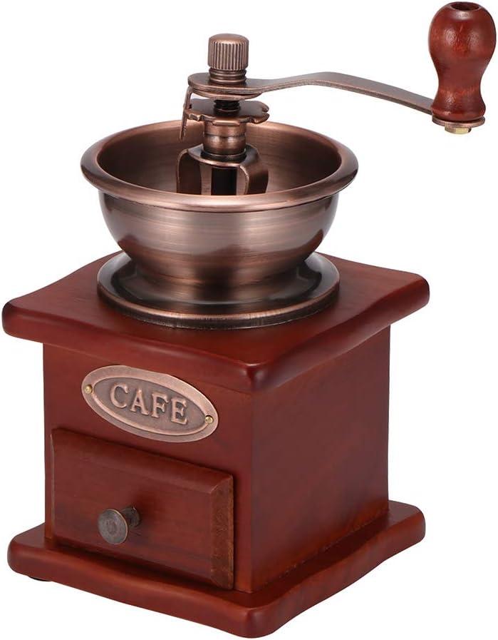 Ranking TOP2 Manual Coffee Grinder Bargain sale DDSKY Vintage Bean