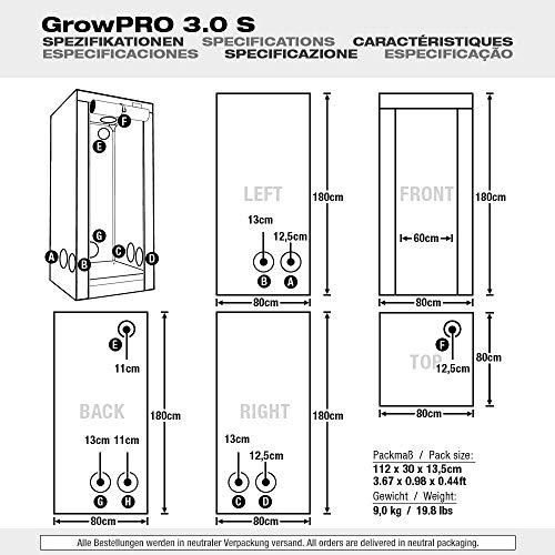 GrowPRO 3.0 - Tenda per coltivazioni
