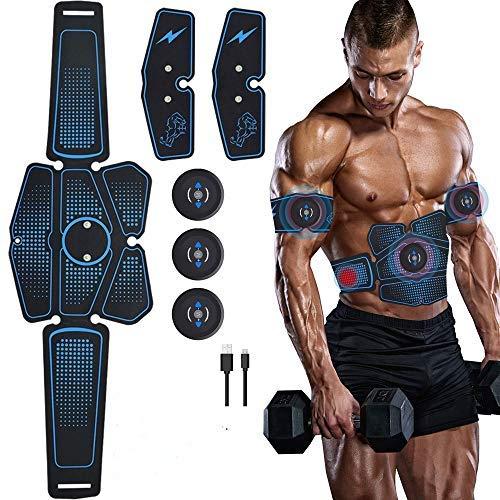 Lixada Estimulador Muscular Definitivo EMS 15/32pcs Entrenador de Cadera Equipo de Entrenamiento para Fitness Ejercicio Muscular (Azul)