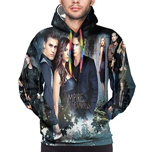 The Va-Mpire Diaries Novelty Pullover 3D Printed Hoodies Fashion Sweatshirt with Pockets