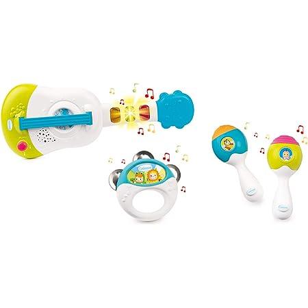 Smoby - Cotoons Coffret Musique - 4 Instruments - Piles Incluses - Jouet pour Bébé dès 12 Mois - 110507