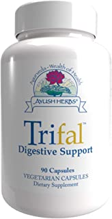 Ayush Herbs Trifal, Digestive Support Supplement for Women and Men, Capsules for Digestion, Intestinal Health, and Antioxi...
