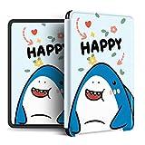 Impresión Cubierta Kindle - Animales De Dibujos Animados Lindo Tiburón Cocodrilo Oso Creativo Auto-Despertar Paperwhite123 Kpw4 Amazon Oasis 2/3 Reader Funda Protectora De Estilo Simple, Estilo