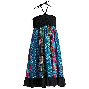 Vestido o Falda Maxi Patchwork con Cinturilla elástica, Aprox. 100 cms de Largo - Muchos diseños Diferentes | DeHippies.com