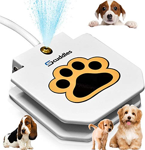 Dog Fountain Water Fountain Dog Sprinkler Step On Dog Sprinkler Toy...