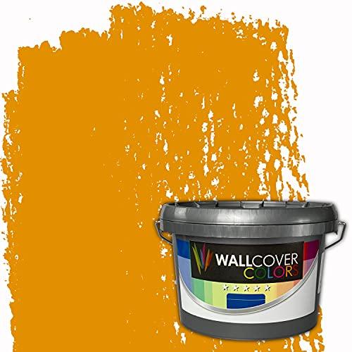 WALLCOVER Colors RAL-Farben Gelb RAL 1006 5L für Innen Innenfarbe Maisgelb Matt | Profi Innenwandfarbe in Premium Qualität | weitere Größen erhältlich