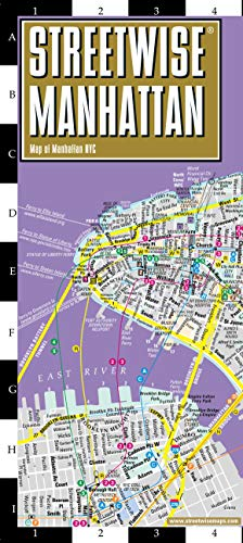 Michelin: Streetwise Manhattan Map - Laminated City Center S