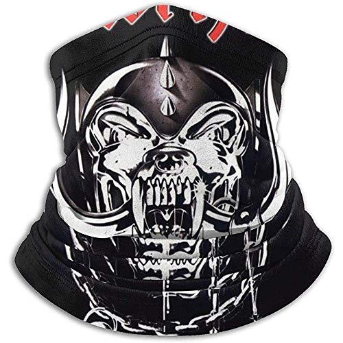 Lemmy Kilmister Fleece Halswärmer Kragen Unisex Multifunktions Hals Winter Warmer Schal Maske Ski Beanie Mütze