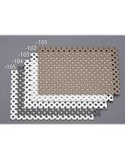 エスコ(ESCO) パンチングアルミ複合板(ブラック) 450x300x3.0mm EA440HA-114