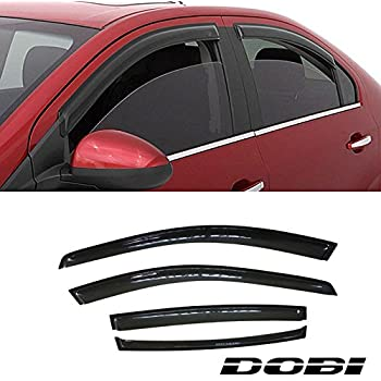 Amazon Com Auto Ventshade 194722 In Channel Ventvisor Side Window Deflector 4 Piece Set For 2002 2006 Nissan Altima Automotive