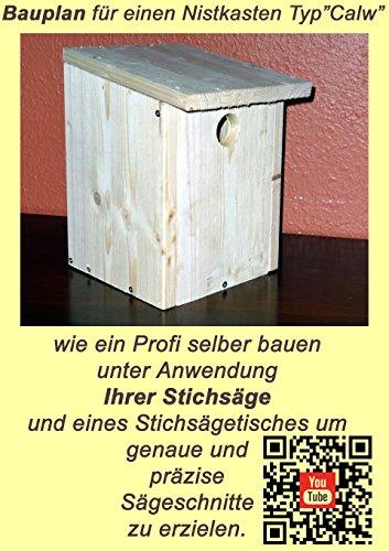 Nistkasten DIY Anleitung für ein Vogelhaus für Sperling und Meisen