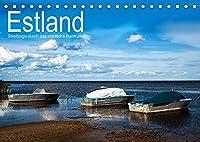 Estland - Streifzuege durch das noerdliche Baltikum (Tischkalender 2022 DIN A5 quer): Bilder einer Reise zu den beeindruckenden Kulturstaetten und Landschaften des noerdlichen Baltikums (Monatskalender, 14 Seiten )