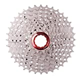 Runfon 9 Velocidad de la Rueda Dentada de MTB Bicicleta de montaña Cassette Fit Informe para el Ciclismo de montaña, Bicicleta de Carretera, Bicicleta de montaña, BMX, Sram, Shimano