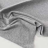 TOLKO 50cm Bündchen-Jersey für Shirt Kleid Rock | Weich