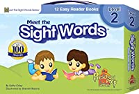 Meet the Sight Words - Level 2 - Easy Reader Books (boxed set of 12 books) 1935610015 Book Cover