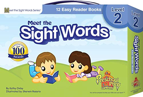 Meet the Sight Words - Level 2 - Easy Reader Books (boxed set of 12 books)