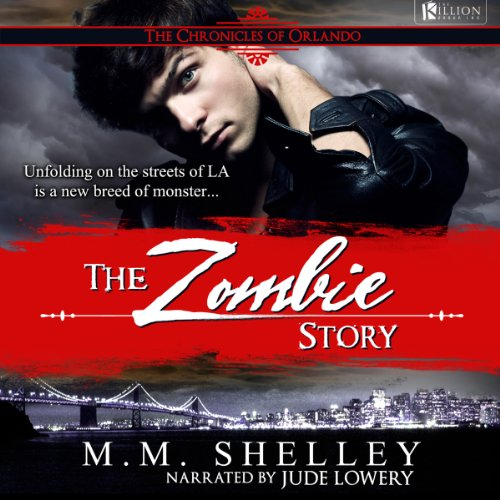 The Zombie Story audiobook cover art