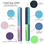 Beauty Shopping Nail Files and Buffers, FANDAMEI 20PCS Professional Manicure Tools Kit. Rectangular