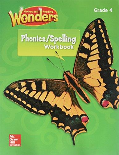 Reading Wonders Spelling & Phonics Workbook, Student Edition Grade 4