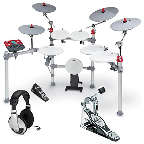 KAT KT3 Advanced High Performance Digital Drum Set w/Single Bass Drum Pedal and