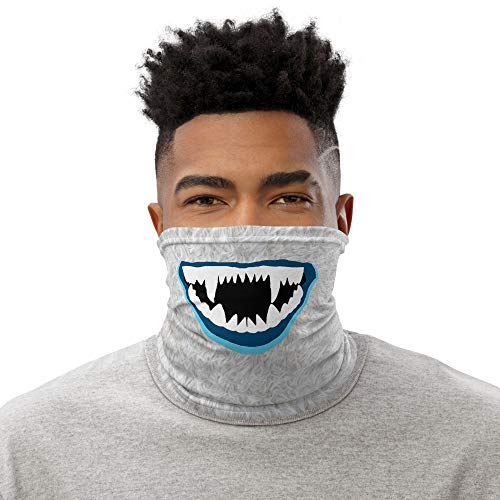 Yeti Neck Gaiter Face Mask for Adults Made in USA, Tube Face Mask Bandana Breathable and Washable Babric, Soft and Cozy Face Scarf