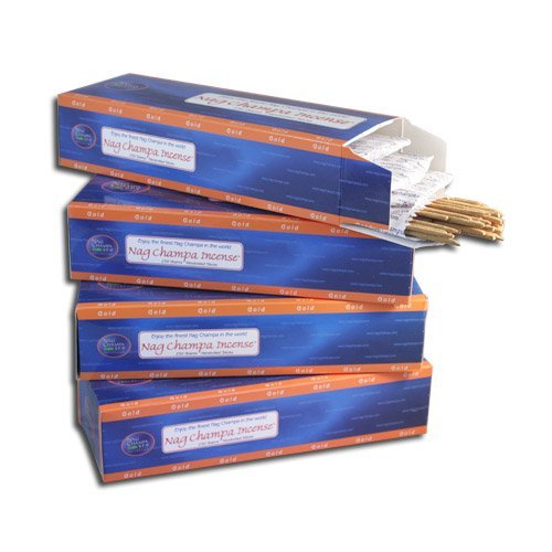 Nag Champa Gold Incense Sticks- Bulk Kilo Pack- 1000 Sticks
