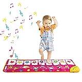 Zmoon Alfombra de Baile, Alfombra de Piano para Niños Teclado Alfombrilla Táctil Alfombrillas para Niños Educación Temprana Musical Alfombrilla