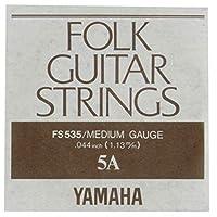 YAMAHA FS535 アコースティックギター用 バラ弦 5弦×6本