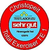 Christopeit Total Exerciser TE 1, silber/schwarz, 1251 - 11