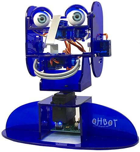 Review OHBOT Learn About Programming and Robotics with This Fully Assembled Robot. Pac