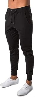 LeerKing Pantaloni Sportivi Uomo Slim Fit i Pantaloni Tuta Ragazzo Uomo Estivi Magro Traspirante Jogger Casual Pantaloni P...