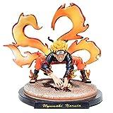 Wuawtyli SUPYINI Anime Naruto Figurine,Naruto Forme de Renard démon Figurine Pop Naruto Personnage Figurine Statue en PVC Figurine Statues Figurines en Forme de Personnages de Naruto 20 CM
