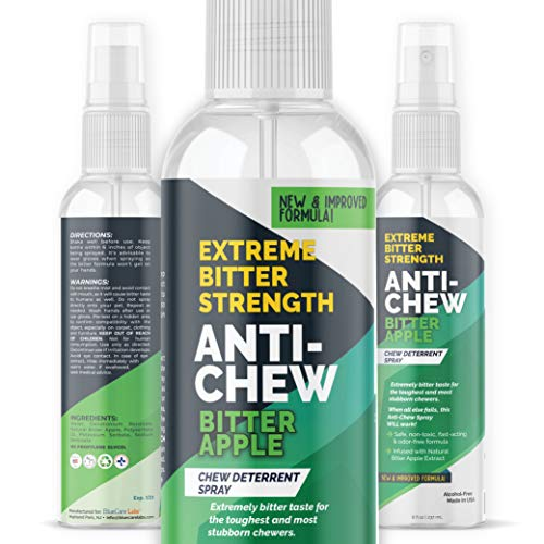 Bitter Apple Spray for Dogs to Stop Chewing Furniture Paws &...