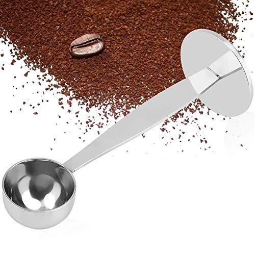 Koffie Scoop, Espresso Stand Koffie Maatregel Tamper Lepel RVS Koffie Thee Gereedschap Meten Tamping Dual-Purpose Scoop voor het meten van Koffie Eiwit Poeder Specerijen