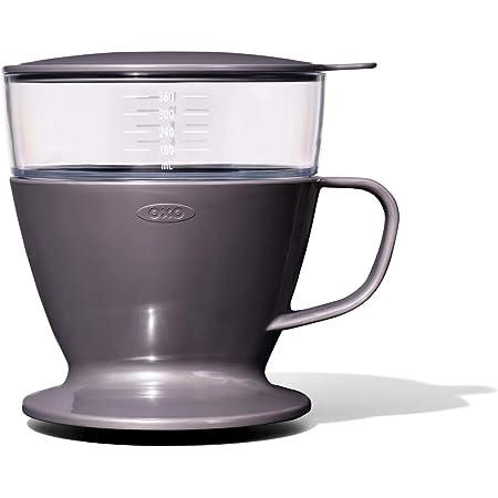 OXO コーヒードリッパー オートドリップ コーヒーメーカー 1~2杯 360ml チャコールグレー