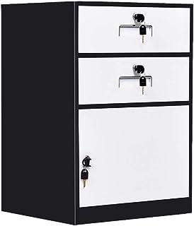 Armoires Classeur en métal avec Le Cabinet de Cabinet de Cabinet d'information de Cabinet de Stockage de Serrure (Color : ...