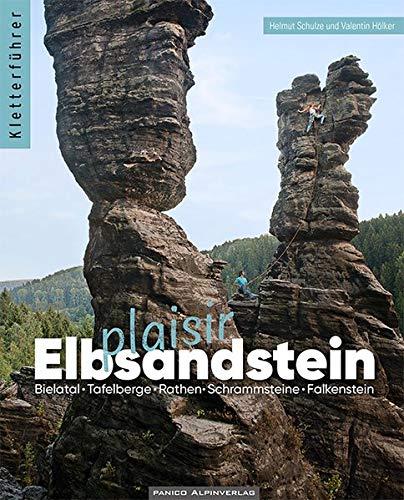Elbsandstein Plaisir - Kletterführer: inkl. App